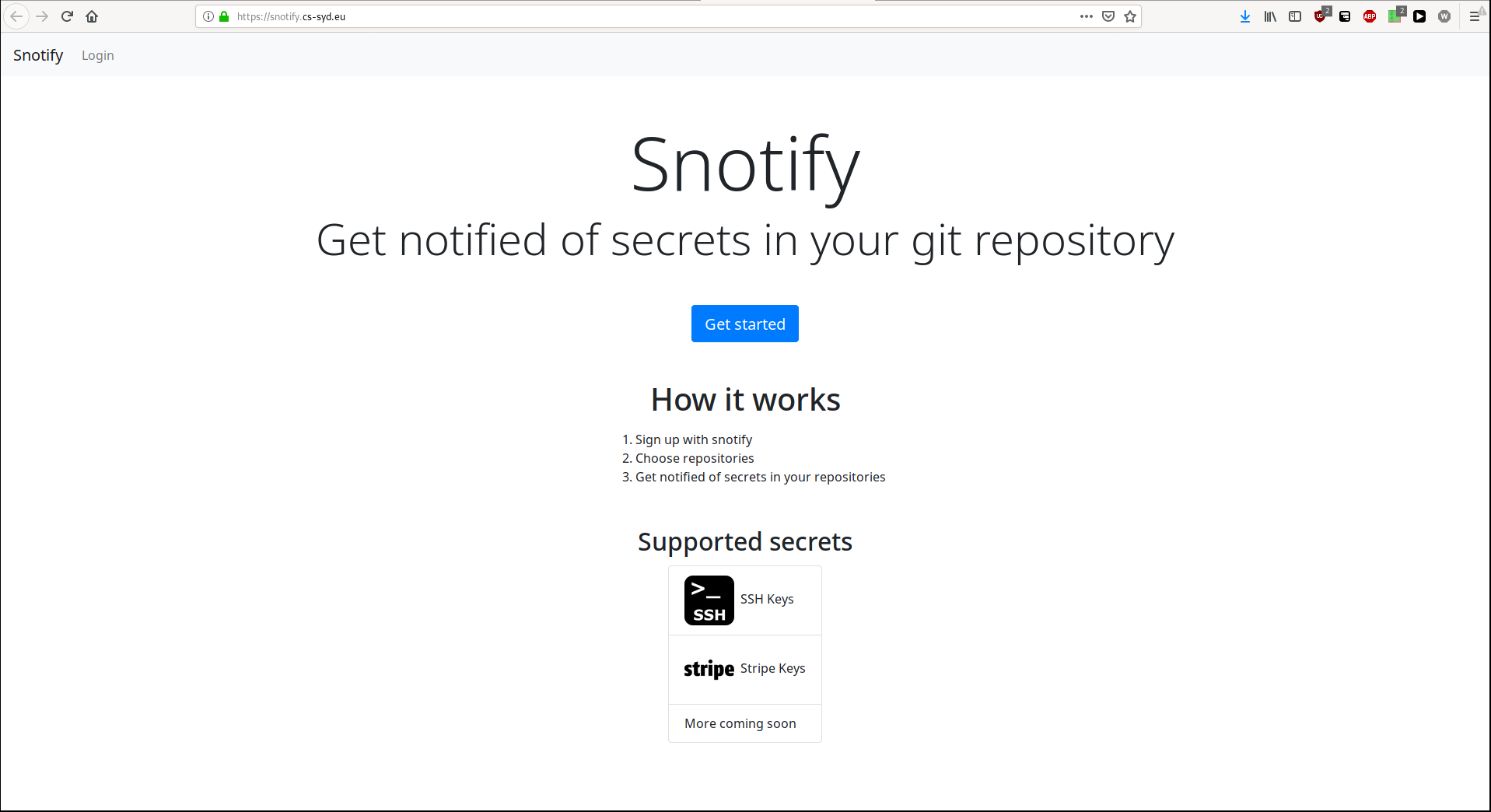 Snotify Screenshot